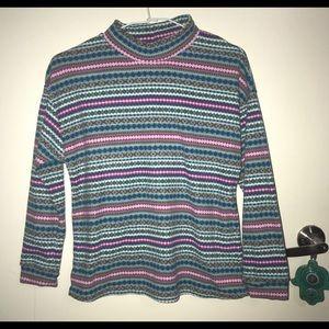 Uniqlo patterned fleece